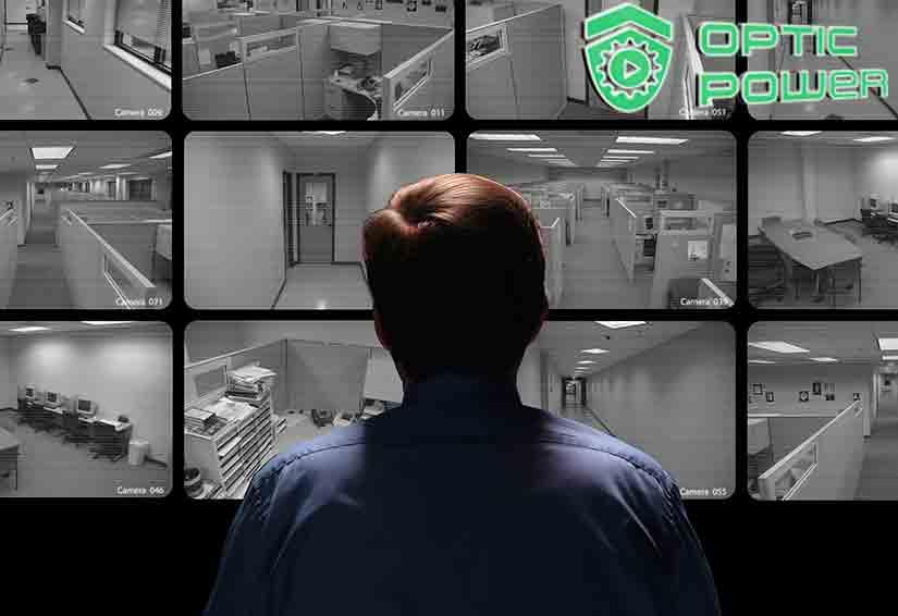 Видео наблюдение в офисе